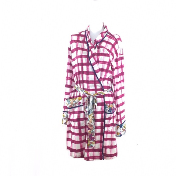 Anthropologie Other - Anthropologie Floreat Gingham Robe